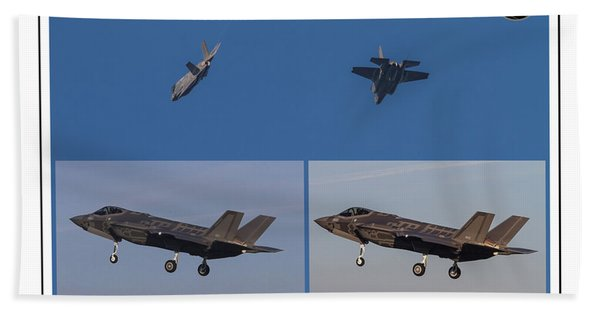Israeli Air Force First Two F-35i Adir Beach Sheet