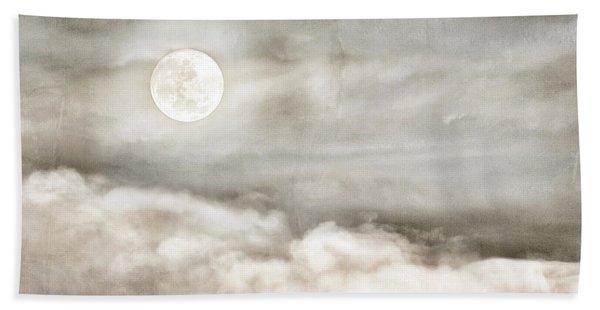 Ivory Moon Beach Towel