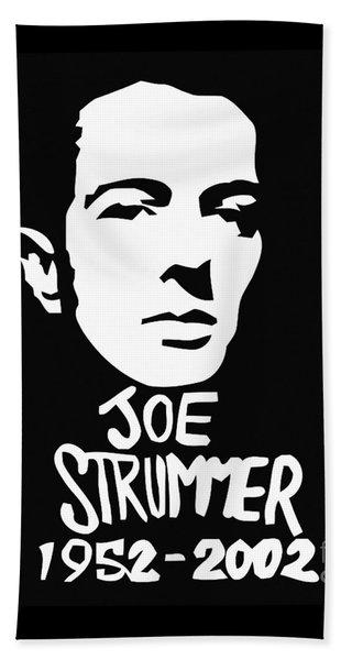 Joe Strummer Beach Towel