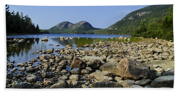 Jordan Pond No.1 Beach Towel