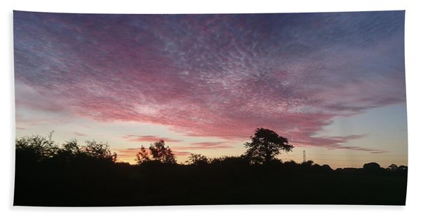 June Sunrise Beach Towel