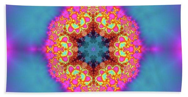 Beach Towel featuring the digital art Jyoti Ahau 192 by Robert Thalmeier