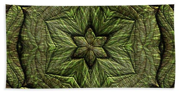 Beach Towel featuring the digital art Jyoti Ahau 223 by Robert Thalmeier