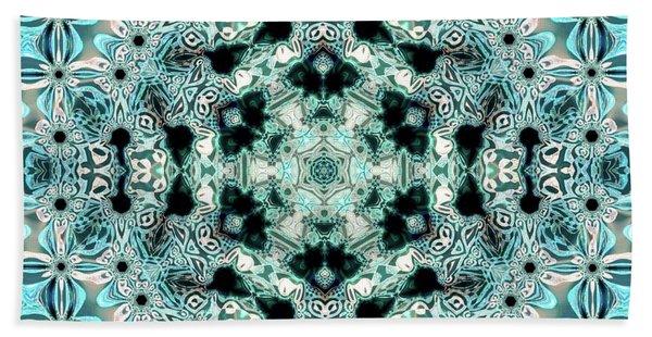 Beach Towel featuring the digital art Jyoti Ahau 996 by Robert Thalmeier