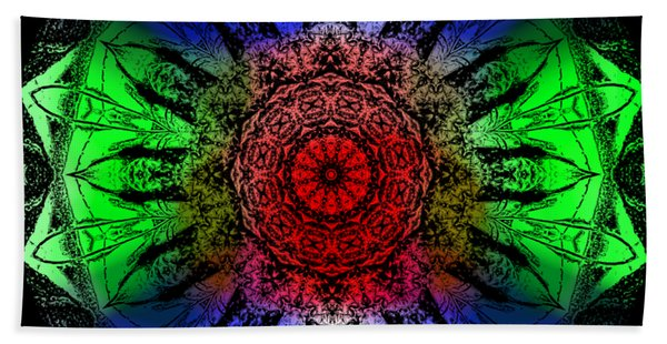 Kaleidoscope Beach Towel