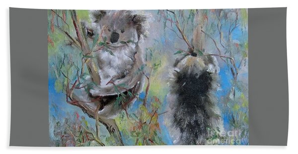 Koalas Beach Towel