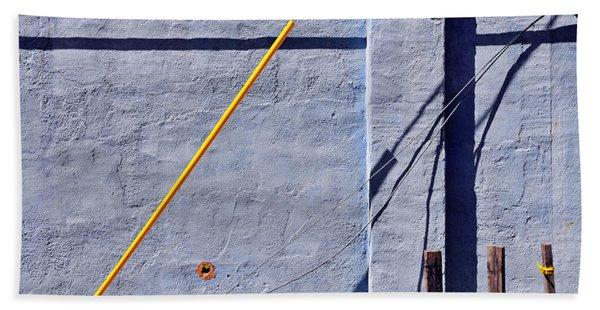 Beach Towel featuring the photograph Krishna Blue by Skip Hunt