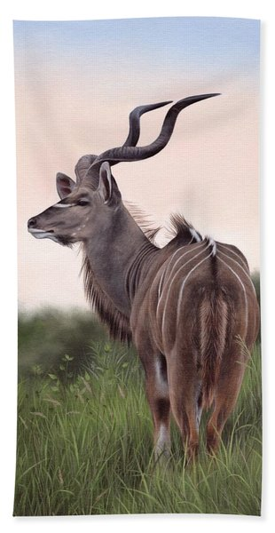 Kudu Beach Towel