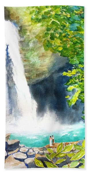 La Fortuna Waterfall Beach Towel