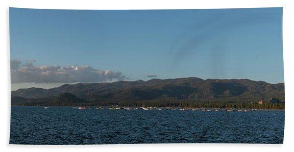 Lake Tahoe Panorama Beach Towel