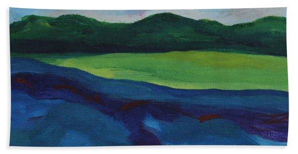 Lake Visit Beach Towel