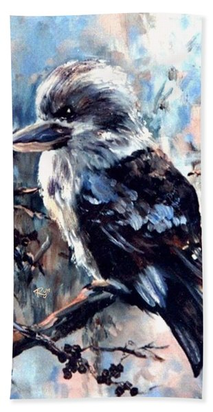 Laughing Kookaburra Beach Towel
