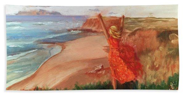 Lauren In Portugal Beach Towel