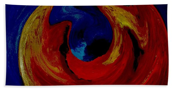 Lava Ocean Beach Towel
