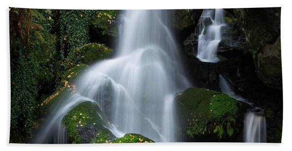 Lichtenhain Waterfall Beach Towel