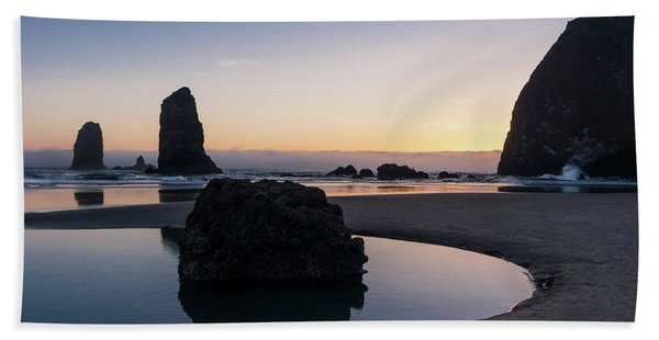Light And Tide Beach Towel