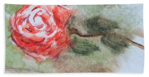 Little Rose Beach Towel