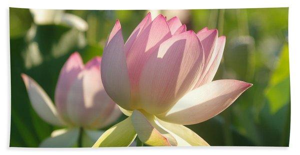 Lotus Flower 2 Beach Towel