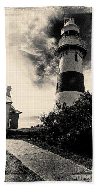 Low Head Lighthouse Beach Towel