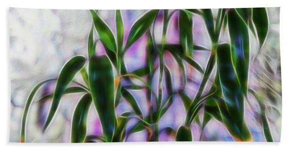 Lucky Bamboo Beach Towel