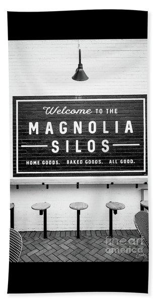 Magnolia Silos Baking Co. Beach Towel