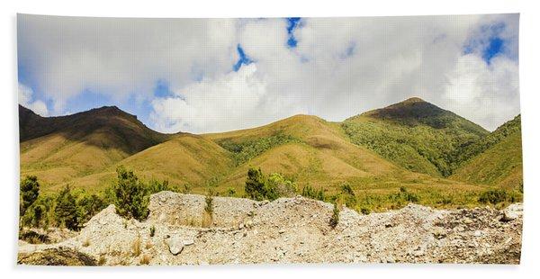 Majestic Rugged Australia Landscape  Beach Towel