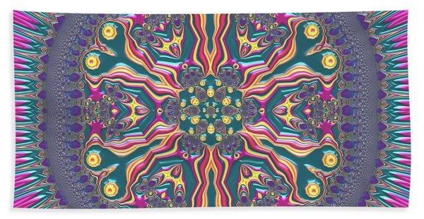 Beach Towel featuring the digital art Mandala 467567678 by Robert Thalmeier