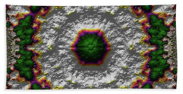 Beach Towel featuring the digital art Mandala 467567678975 by Robert Thalmeier