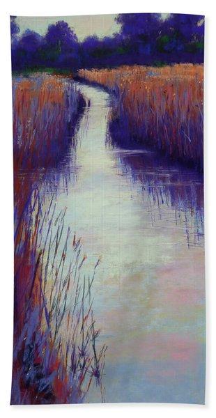 Marshy Reeds Beach Sheet