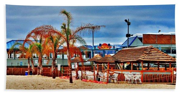 Martells On The Beach - Jersey Shore Beach Towel