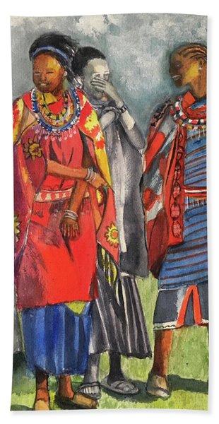 Masai Women Beach Towel