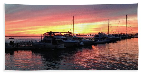 Masts And Steeples Beach Towel
