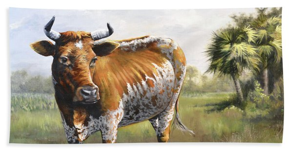 On The Florida Prairie Matilda Beach Towel
