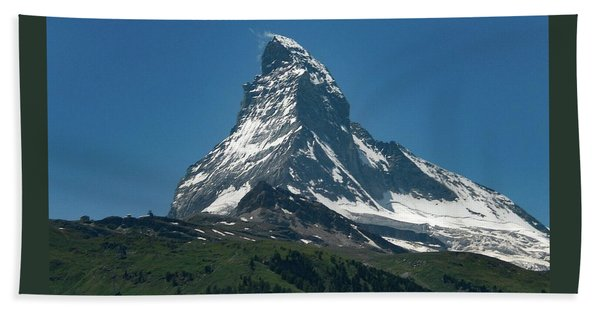 Matterhorn, Switzerland Beach Towel