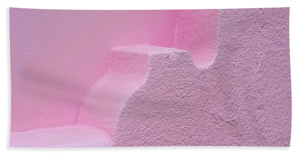 Mediterranean Architectural Art - Strawberry Sorbet - Sharon Cummings Beach Towel