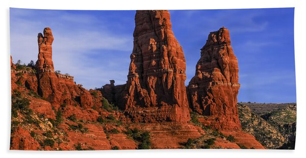 Megalithic Red Rocks Beach Towel