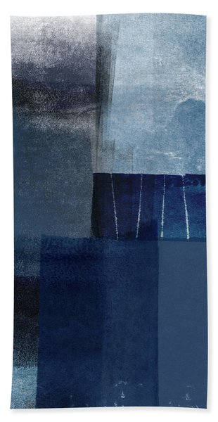 Mestro 1- Abstract Art By Linda Woods Beach Towel