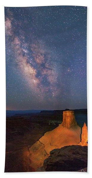 Milky Way At Marlboro Point Beach Towel