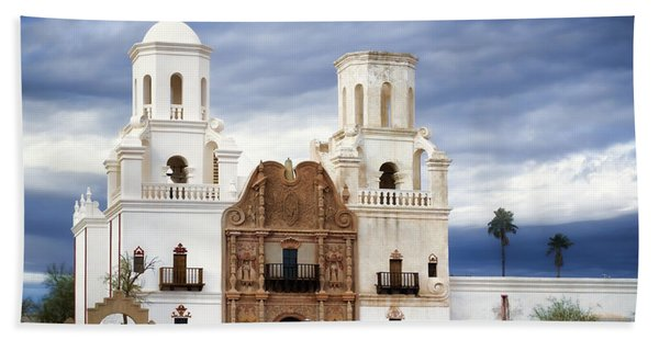 Mission San Xavier Del Bac Beach Towel
