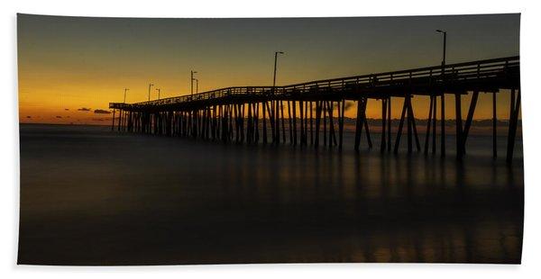 Misty Morning Beach Towel