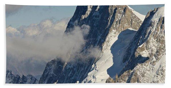 Mont Blanc Du Tacul Beach Towel