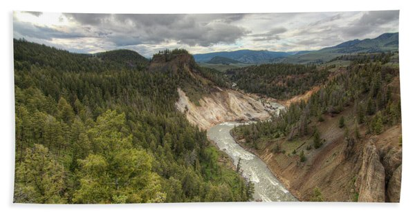 Moody Yellowstone Beach Towel