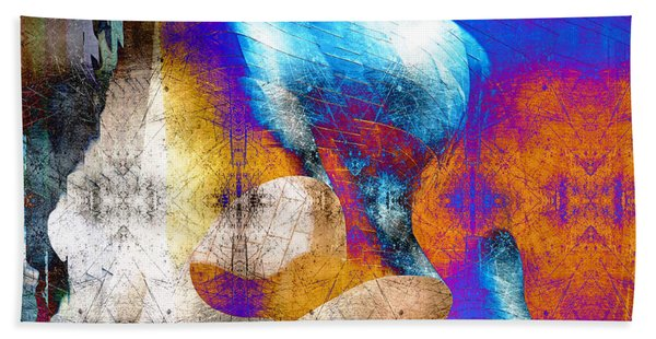 Beach Towel featuring the photograph Mopop by Michael Hope
