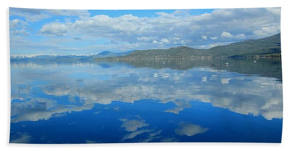Beach Towel featuring the photograph Morning Reflections by Sean Sarsfield