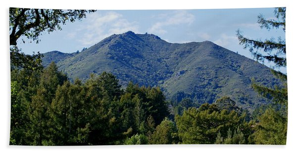 Mount Tamalpais Beach Towel