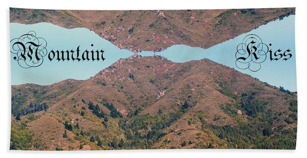 Mountain Kiss  Beach Towel
