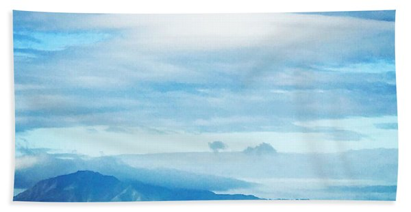 Mt Diablo California Beach Towel