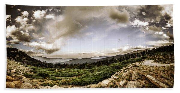 Mt. Evans Alpine Vista #2 Beach Sheet