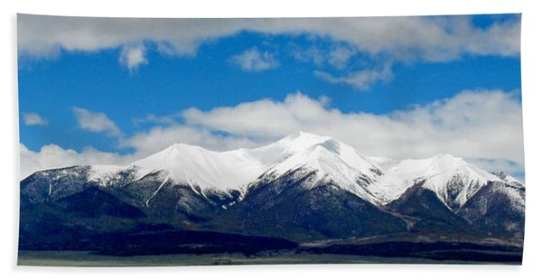 Mt. Princeton Colorado Beach Towel