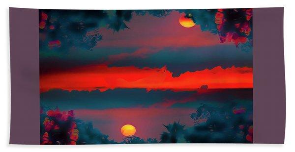 My First Sunset- Beach Towel